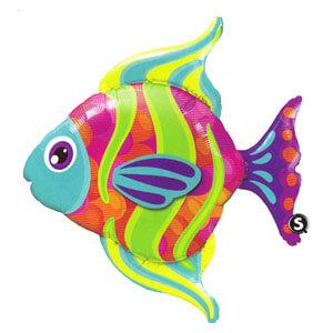 Palloncino Pesce tropicale UltraShape 1 pezzo