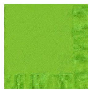 Tovaglioli verde lime 20 pezzi