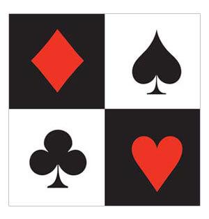 Tovaglioli Carte da gioco linea Card Night 16 pezzi