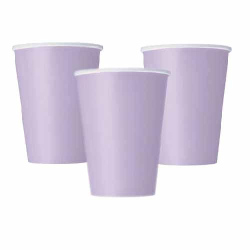 Bicchieri lilla 14 pezzi