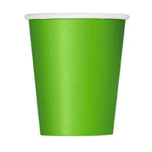 Bicchieri verde lime 14 pezzi