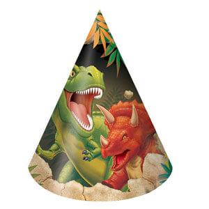 Cappellini Dinosauri 6 pezzi