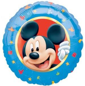 Palloncino Topolino Disney ritratto 45 cm 1 pezzo