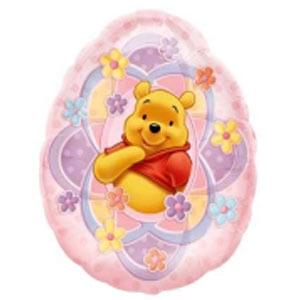 Palloncino Winnie the Pooh Pasqua SuperShape 1 pezzo