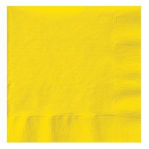 Tovaglioli giallo 20 pezzi
