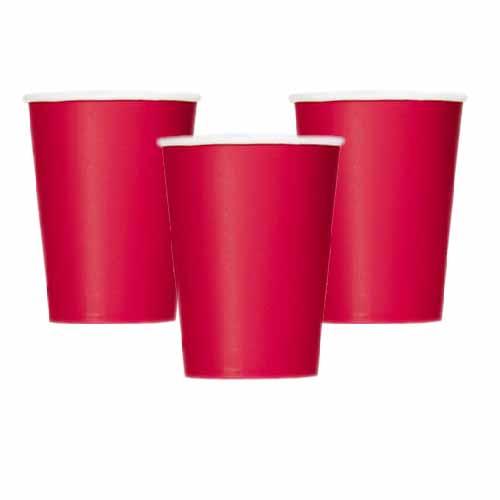 Bicchieri rosso 14 pezzi