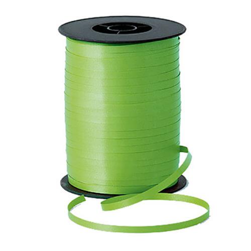 Nastro verde lime per palloncini e confezioni regalo 1 pezzo