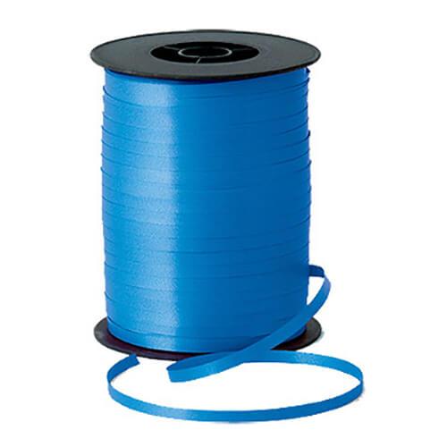 Nastro blu per palloncini e confezioni regalo 1 pezzo