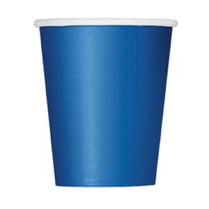 Bicchieri blu 14 pezzi