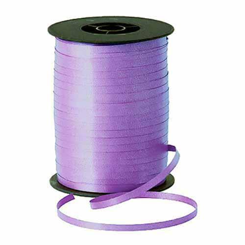 Nastro lilla per palloncini e confezioni regalo 1 pezzo