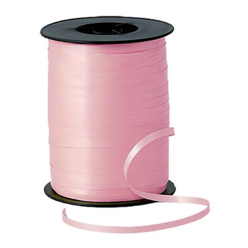 Nastro rosa pastello per palloncini e confezioni regalo 1 pezzo