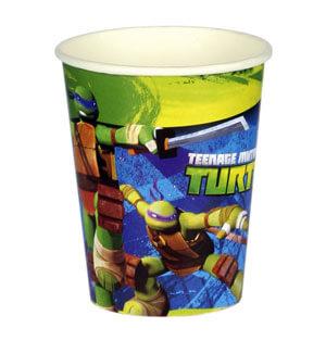 Bicchieri Tartarughe Ninja 8 pezzi