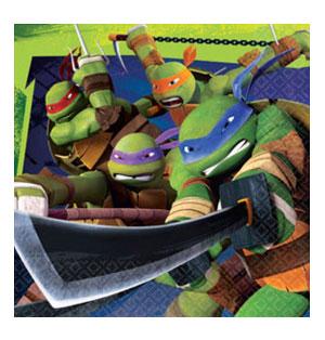Tovaglioli Tartarughe Ninja 20 pezzi