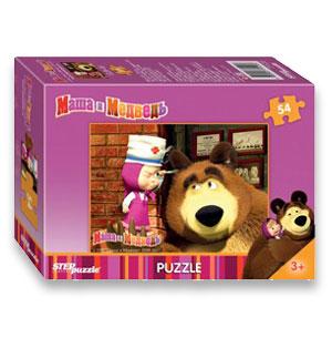 Masha e Orso puzzle 80 pezzi