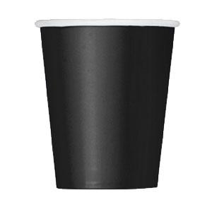 Bicchieri nero 14 pezzi