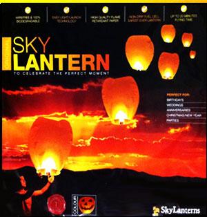Lanterna volante halloween Sky Lanterns 1 pezzo