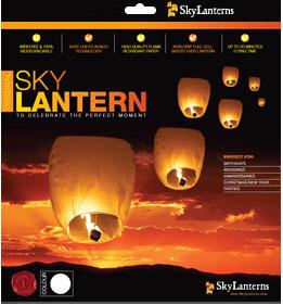 Lanterna volante classica Sky Lanterns 1 pezzo