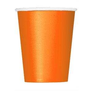 Bicchieri arancione 14 pezzi