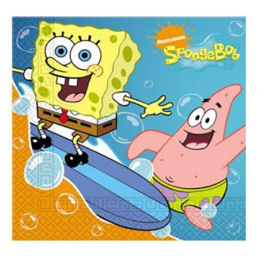 Tovaglioli SpongeBob 20 pezzi