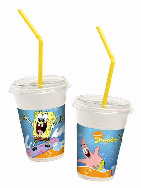 Bicchieri SpongeBob 10 pezzi