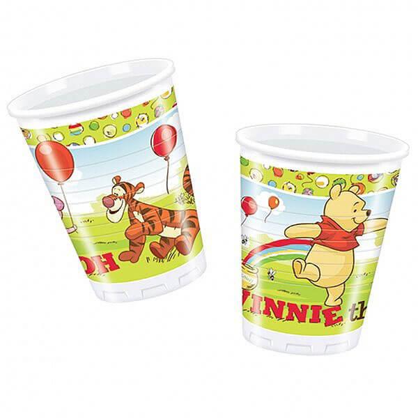 Bicchieri Winnie the Pooh 10 pezzi